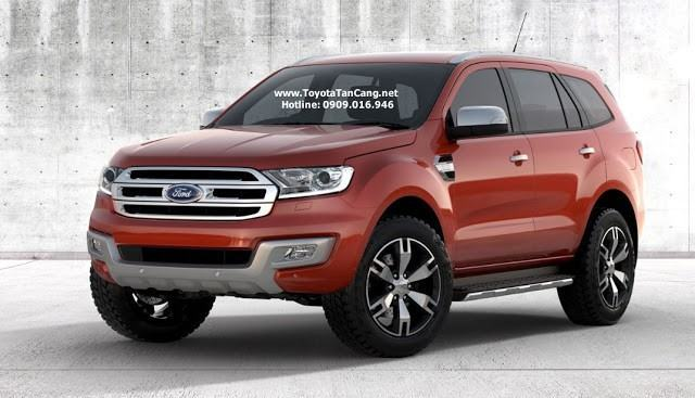 ford everest 2017 dau xe