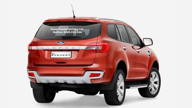 ford everest 2016 duoi xe
