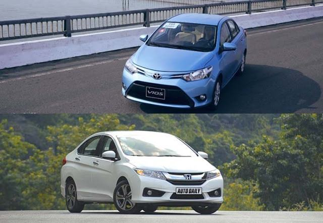 so sanh vios va honda city