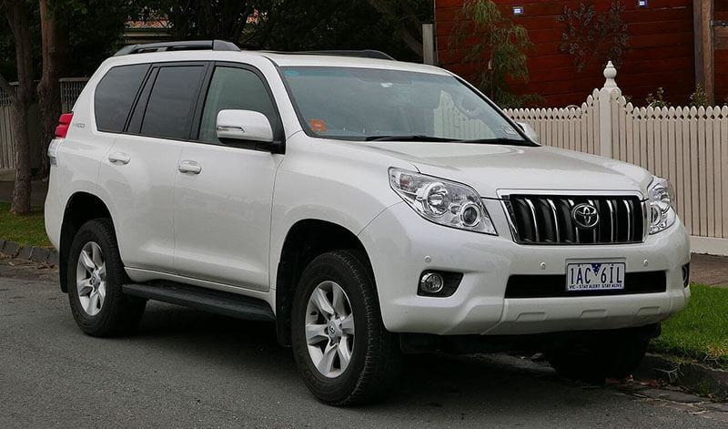 2013 Toyota Land Cruiser Prado (KDJ150R MY13) Altitude 5-door wagon