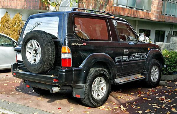 1996–1999 Toyota Land Cruiser Prado 2 Door 2.7 RX Type S (RZJ90W, Japan)