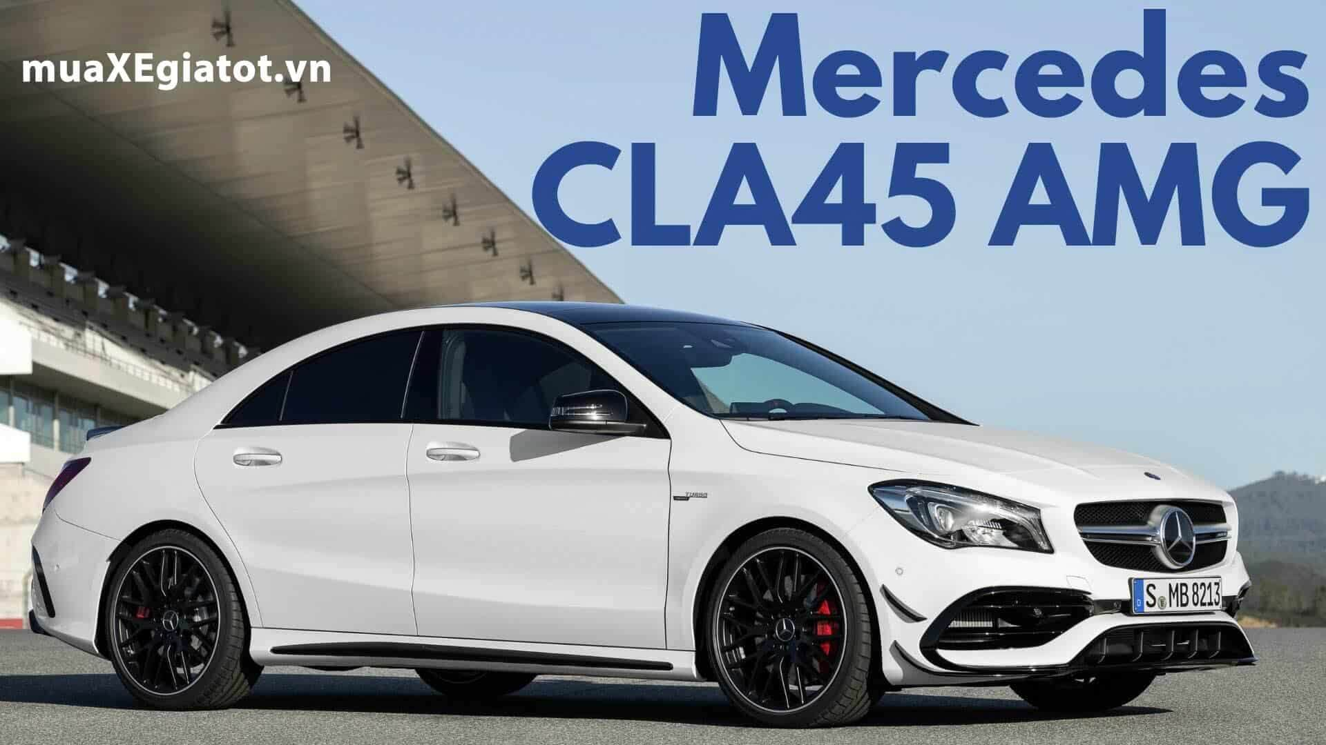 Mercedes AMG CLA 45 4Matic 2017