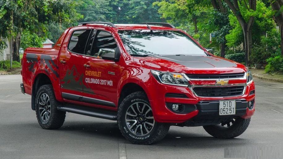 chevrolet colorado high country 2017 ngoai that