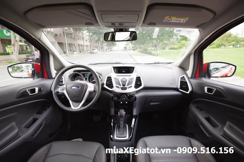 nội thất ford ecosport 2017