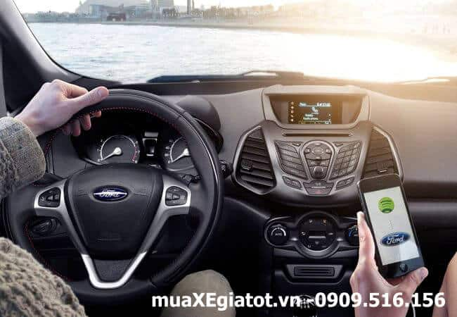 ford ecosport 2017 tiện nghi