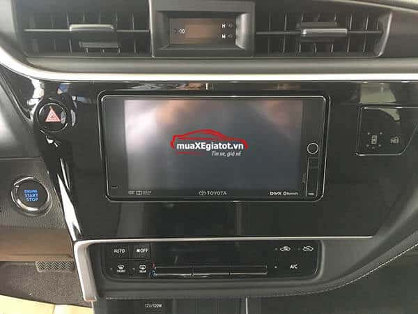 Toyota Altis 2.0V CVT Luxury 2018 (DVD)