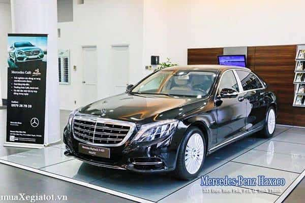 mercedes maybach S 400 4matic 17 result - Trải nghiệm Mercedes-Maybach S400 tại Việt Nam - Muaxegiatot.vn