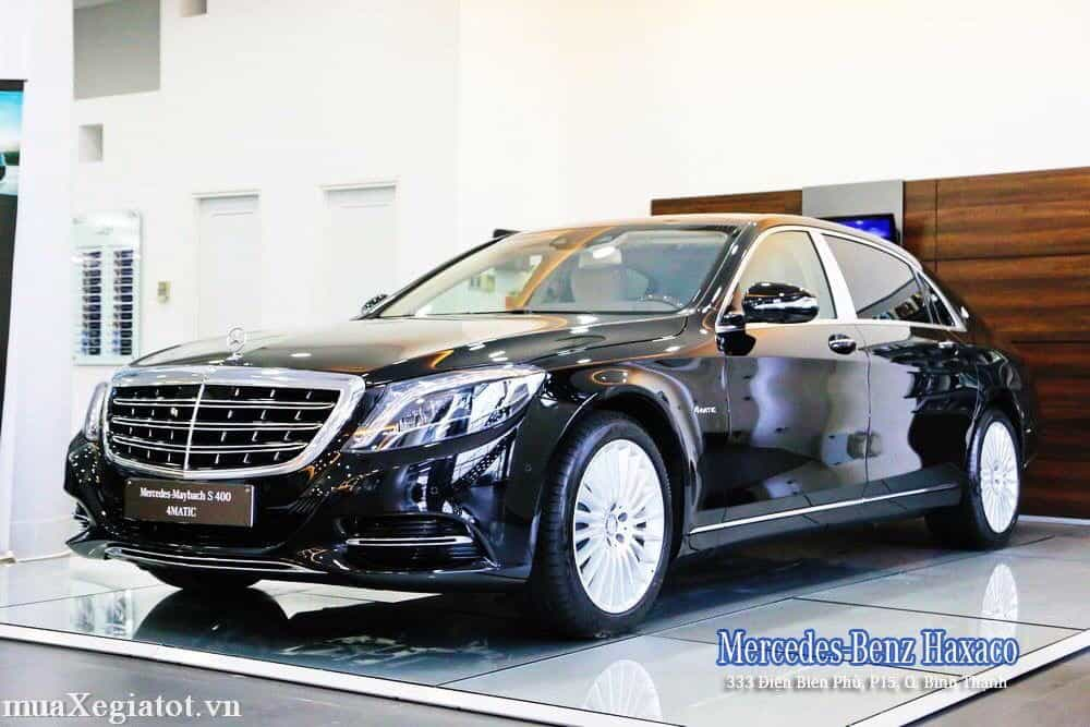 mercedes maybach S 400 4matic 18 result - Trải nghiệm Mercedes-Maybach S400 tại Việt Nam - Muaxegiatot.vn