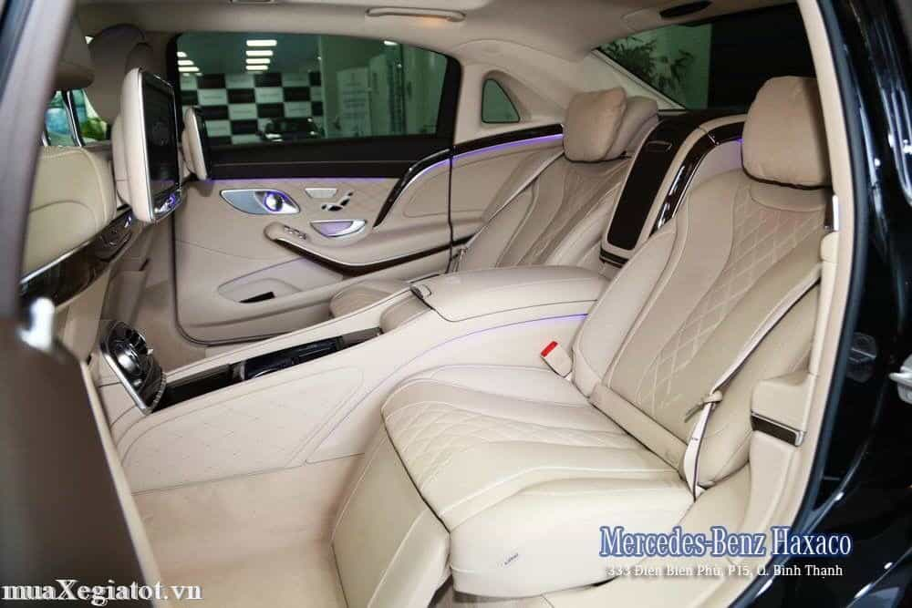 mercedes maybach S 400 4matic 3 result - Trải nghiệm Mercedes-Maybach S400 tại Việt Nam - Muaxegiatot.vn