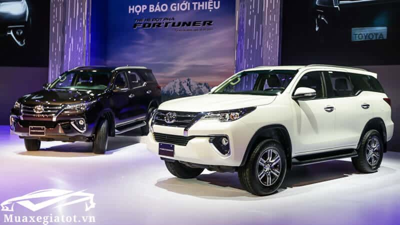 giá xe toyota fortuner 2018