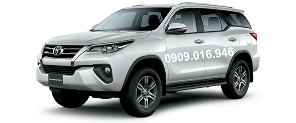 Toyota Fortuner 2017 - 2018 màu trắng 070 (Muaxegiatot.vn)