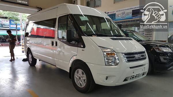 Ford Transit Luxury 2018 bản cao cấp