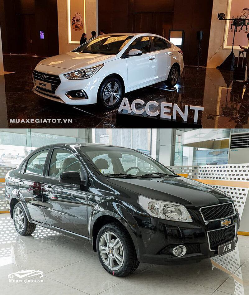 So Snh Xe Sedan Gi R Hyundai Accent V Chevrolet Aveo