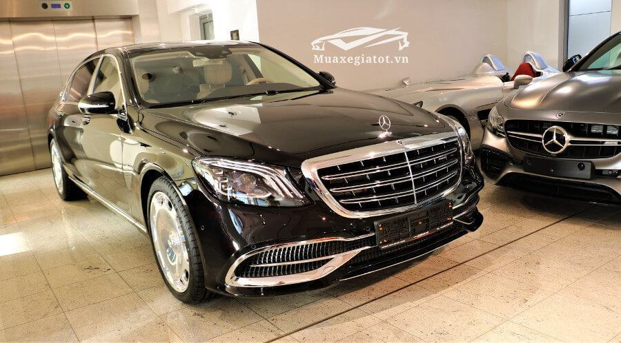 mercedes maybach s560 4matic ngoai that xe