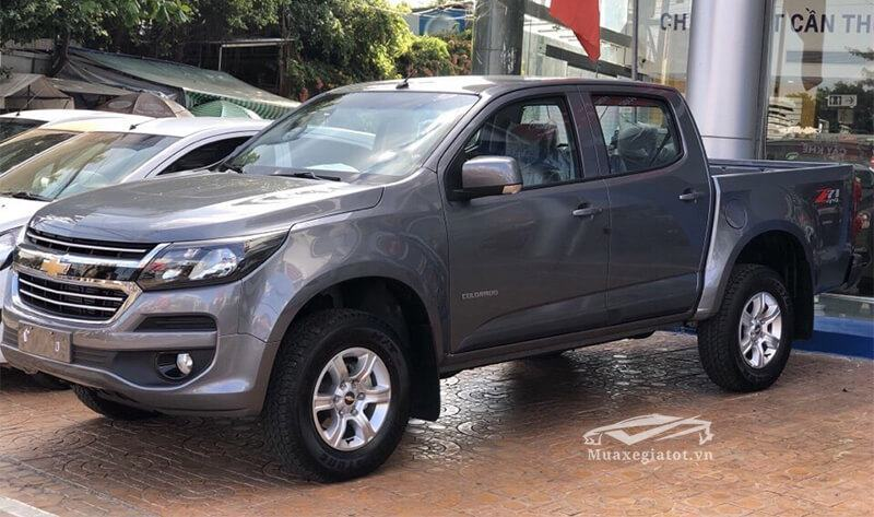 hong xe chevrolet colorado 2.5 l so tu dong