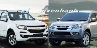 so-sanh-xe-chevrolet-trailblazer-lt-2018-vs-Isuzu-mu-x-2018-so-san-mt-tuvanmuaxe-2 copy