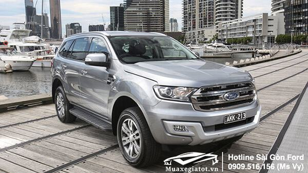 ford everest 2019 du kien ve viet nam tu thang 9/2018
