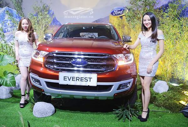Đánh giá Ford Everest Titanium 2019 2.0 Bi Turbo