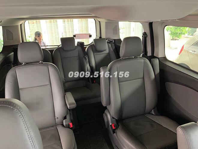 nội thất xe ford tourneo 2019