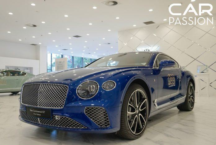 Bentley Continental GT First Edition tại Việt Nam