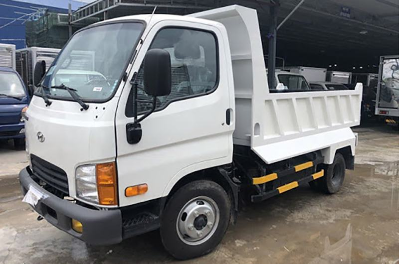 Xe ben Hyundai 1T95 - New Mighty N250