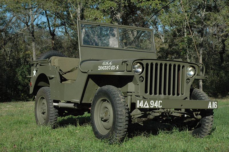 Willys-Overland MB, 1941–1945